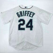 Ken Griffey Jr Jersey Seattle Mariners Men's Size L Majestic Cool Base MLB Shirt