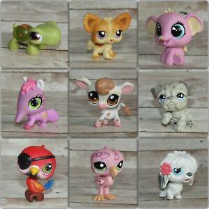 Littlest Pet Shop Hasbro Vintage Generation 1-4 Toy LPS Dogs Cats Horses Birds