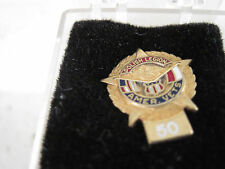 Polish Legion Amer Vets 50   yr  pin mint