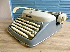 Vintage Alpina Typewriter Mid Century Design Space age Portable