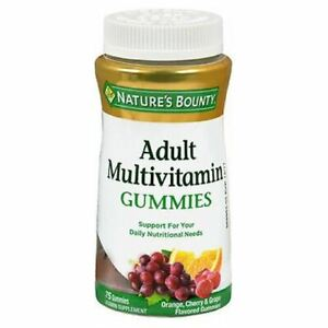 Natures Bounty Your Life Multi Adult Gummies 75 each