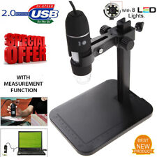 1000x 10mp Usb Digital Microscope 8led Endoscope Magnifier Camera With Lift Stand