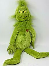 "Kohls Cares Dr Seuss The Smiling Grinch W/ Red Heart Soft Furry 20"" Stuffed Toy"