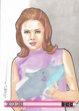 WOMEN OF AVENGERS - ROY COVER SKETCH CARD (EMMA PEEL)