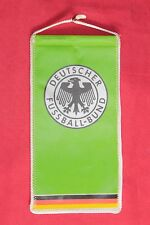gagliardetto Football Pennant - DEUTSCHER FUSSBALL-BUND CON AUTOGRAFI