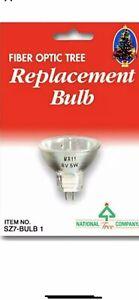 National Tree 5-watt-6 Volt Bulb Christmas Fiber Optic Decorations.