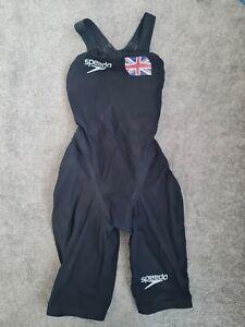 Speedo Fastskin Openback kneeskin Size 23 black