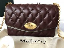 Mulberry Quilted Darley Bag Boxed/paper Bag/ Dust Bag Included Genuine NWT P£695