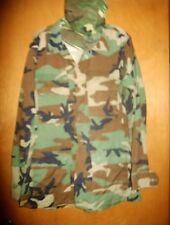 US Army Woodland Camouflage Hot Weather Coat FIELD JACKET & HAT Medium Regular??