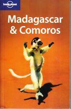 MADAGASCAR & COMOROS - LONELY PLANET TRAVEL GUIDE MAP PICS INFO AS NEW SOFTCOVER