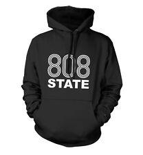 808 State Sudadera Con Capucha Unisex Todas Las Tallas