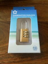 Combination Padlock Home Door Locker Toolbox Lock Luggage Suitcase Padlock