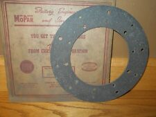 NOS Clutch Disc Facing 1938 1939 Plymouth Roadking & Deluxe 6 #1063412