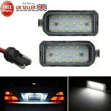 2X LED Licence Number Plate Light For Ford Focus MK FIESTA S-MAX Jaguar XJ XF