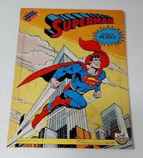 Vtg 1984 Super Powers Superman Frame/Tray Puzzle Craftmaster