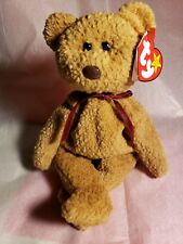 Ty BEANIE BABIES Rare Retired CURLY w Tag Errors ORIGiiNAL/SUFACE PVC1ST EDITION