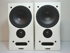 Alexxa MB Quart  B-One Lautsprecher Weiß Hochglanz * Speakers Gloss White * PAAR