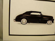 1948 Chevrolet Fleetmaster  artist Auto Museum Full color Illustrated not photo