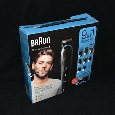 New Sealed Braun All-In One Trimmer 5 With Free Gillette Fusion ProGlide Razer