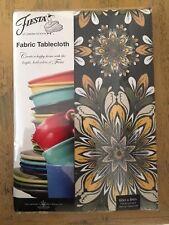 Fiesta Homer Laughlin Moresco Fabric Tablecloth Oblong 60 x 80