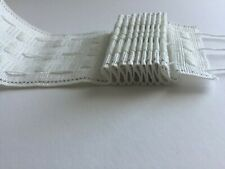 CURTAIN HEADING HEADER PLEAT 3inch/ 7.5 cm TAPE from £0.99 PER 1 M only !