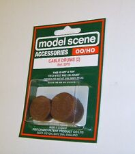 Modelscene Accessories 5079 - Cable Drums x 2 (00) - Railway Models