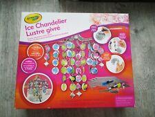 Crayola Ice Chandelier DIY For Kids