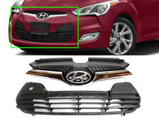 Genuine OEM Front Bumper Upper & Lower Grille (Fits: HYUNDAI 2012-2017 Veloster)