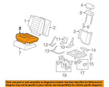 Hummer GM OEM 08-09 H2 Third Row Seat-Cushion Cover Right 19127665