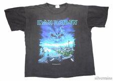 IRON MAIDEN Vintage T Shirt TOUR Concert 2000 Brave New World HEAVY METAL BAND