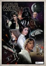 LIMITED EDITION, SIGNED & NUMBERED STAR WARS POSTER, LAST 2 AVAILABLE.