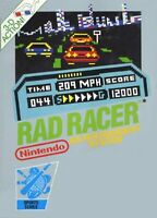 Rad Racer For Nintendo NES Vintage Flight 7E