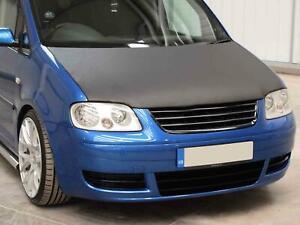 Bonnet Bra Tailored Full Black Vinyl Stone Chip Cover Protector VW Caddy (04-10)