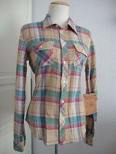 TRUE RELIGION Jeans WRK SHRT PLAID W/EMB Damen Hemd Gr.S NEU mit ETIKET