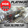1 x NGK PLATINUM SPARK PLUGS 6458 FOR AUDI S3 1.8 (05/99-->09/01)