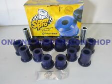 SUPER PRO Rear Spring Bush Kit to suit  Nissan Navara D40 4WD Models SUPERPRO
