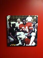 """Georgia Bulldogs Football """"Herschel & UGA"""" Canvas Art Print Herschel Walker"""