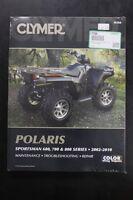 New Clymer Polaris Service Shop Manual Sportsman 600  700 & 800 2002-10  M366