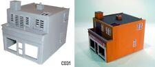 Dapol C031 - Modern Shop & Flat 00 Gauge New Plastic Kit - 1st Class Post