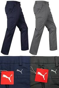 "Puma Golf Tailored Chino Tech Golf Trousers - RRP£70 - Long Leg 34"" Only"