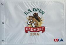 2016 US Open OFFICIAL (Oakmont) Embroidered GOLF FLAG