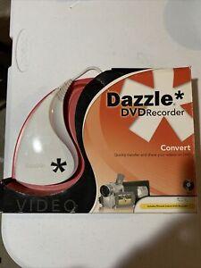 Dazzle DVD Recorder;Convert quickly videos onto DVD