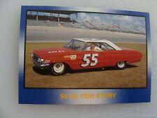 55 lb FISH STORY - CAR #55-TINY LUND -CARD  #62 -TG RACING'91 Masters -TG Racing
