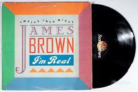"James Brown - I'm Real (12"" Single) (1988) Vinyl 12"" Single •PLAY-GRADED•"