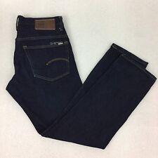 G Star Raw 3301 33 X 32 Jeans Straight Selvage Urban Streetwear Authentic Dark