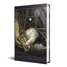 Lisa Parker's Times Up: Cat w/Sandtimer Book of Shadows!