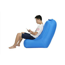 Outdoor Inflatable Sofa Seat Portable Camping Air Chair Foldable Beach Chair