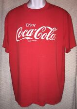 Vintage Enjoy Coca-Cola t-shirt size adult L/XL by Stedman