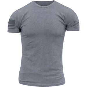 Grunt Style Ghost Basic T-Shirt - Dark Heather Gray