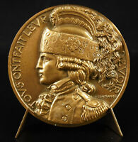Medal c1940 Dragons Soldier Cavalier Military Delamarre Military Rider Medal